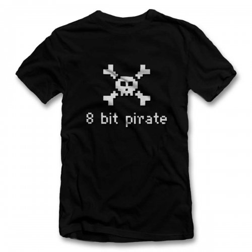 8 Bit Pirate T-Shirt