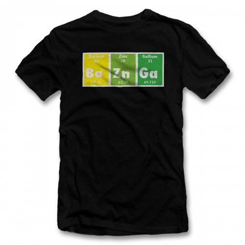 Bazinga Elements T-Shirt