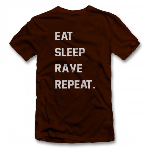 Eat Sleep Rave Repeat 2 T-Shirt