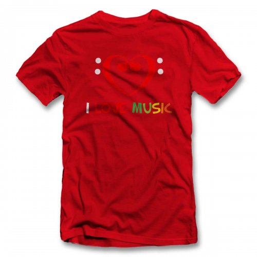 I Love Music 02 T-Shirt
