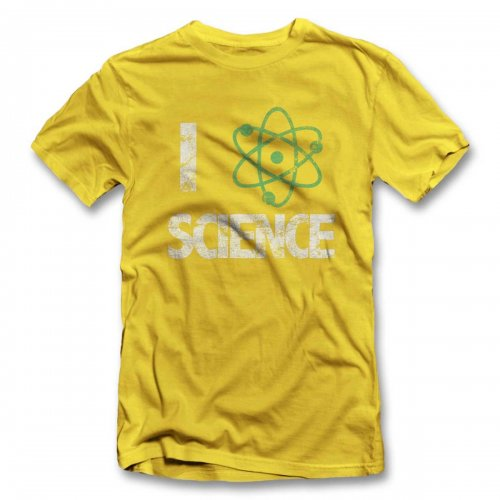 I Love Science Vintage T-Shirt