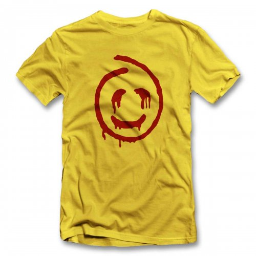 Red John Smiley T-Shirt